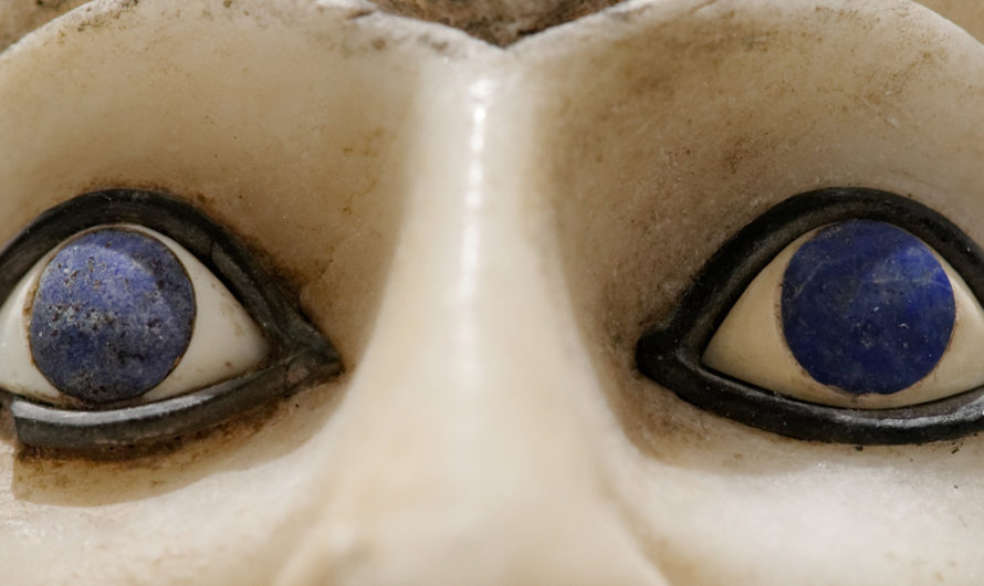 Why Did This Ancient Sumerian Statue Have Blue Eyes?