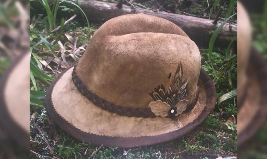 This Awesome Mushroom Hat Is Made out of Real Mushrooms