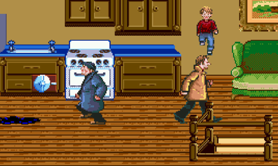Bits and Pieces: Home Alone (Sega Genesis)