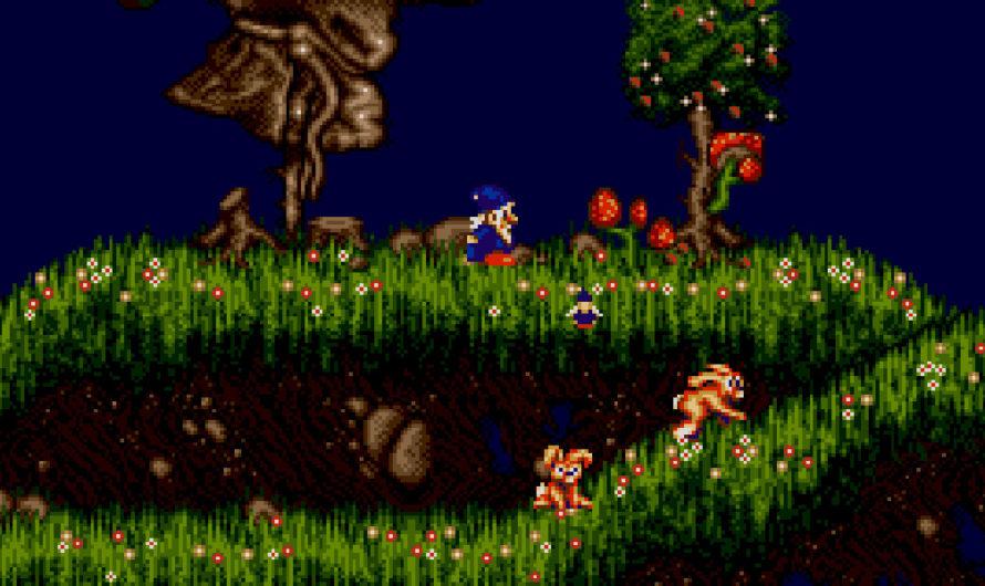 Wiz 'n' Liz (Sega Genesis) is fast-paced and multiplayer