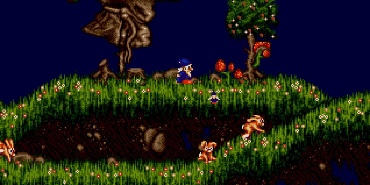 Wiz N Liz Sega Genesis