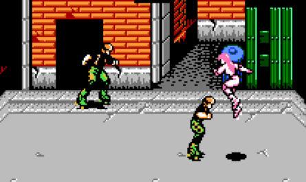Rollergames NES