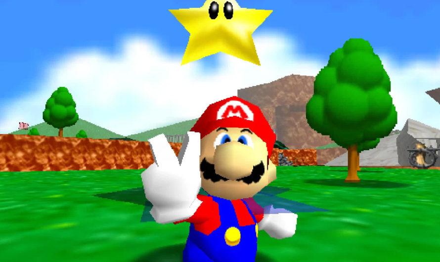 Super Mario 64 – Platforming Redefined