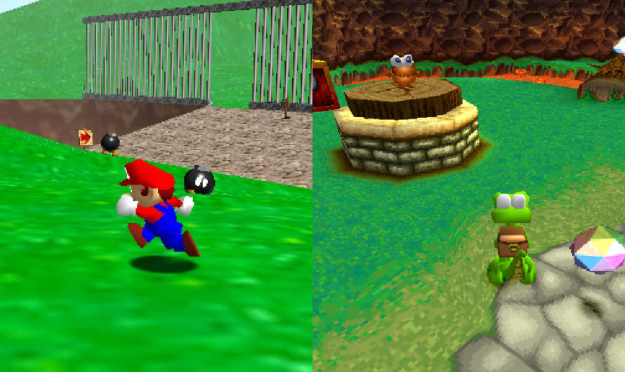 Was Super Mario 64 a STOLEN Idea From Argonaut Games?