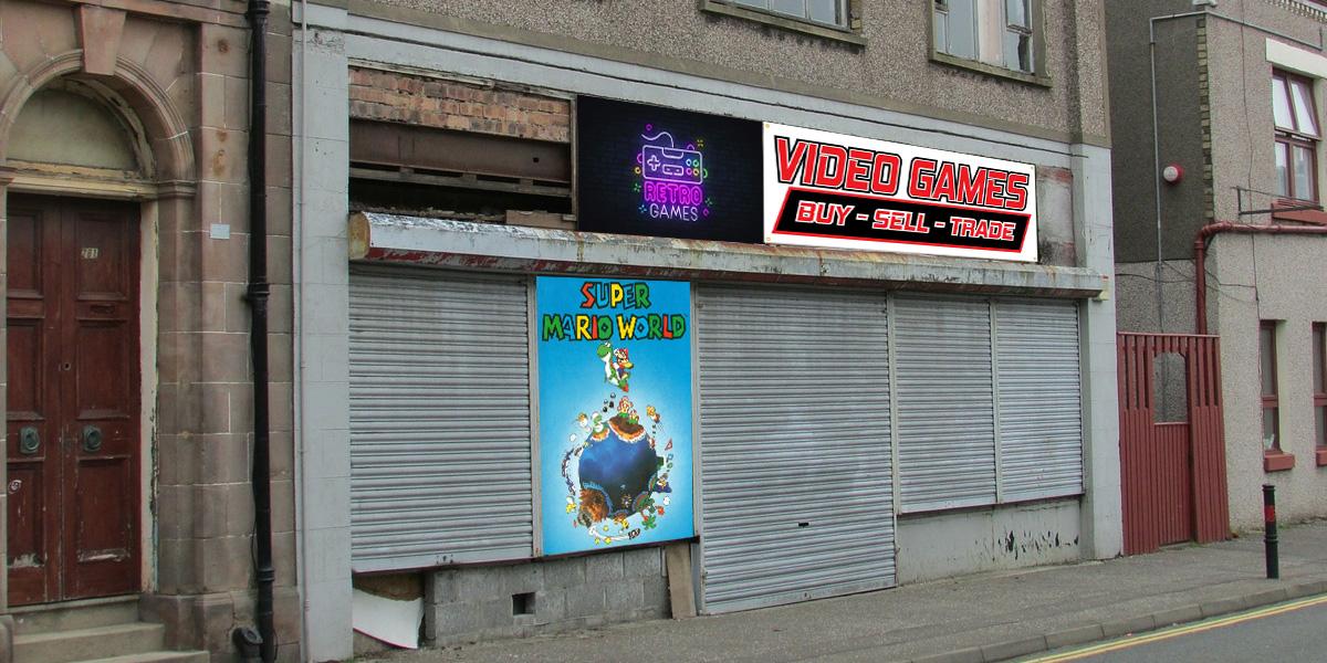 retro gaming stores