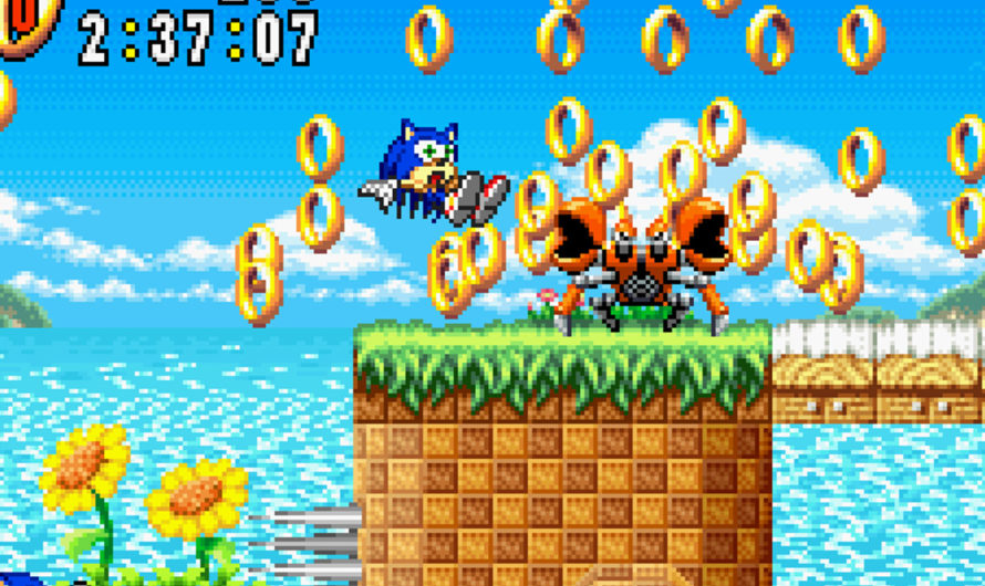 Sonic Advance (GBA) Review — Sonic's Nintendo Debut