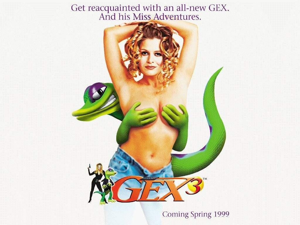 gex 3 retro video game ad