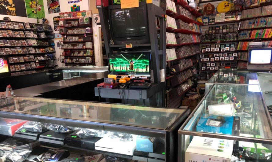 Retro Video Game Stores Near Cleveland and NE Ohio in 2021