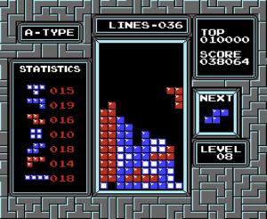NES Tetris mill