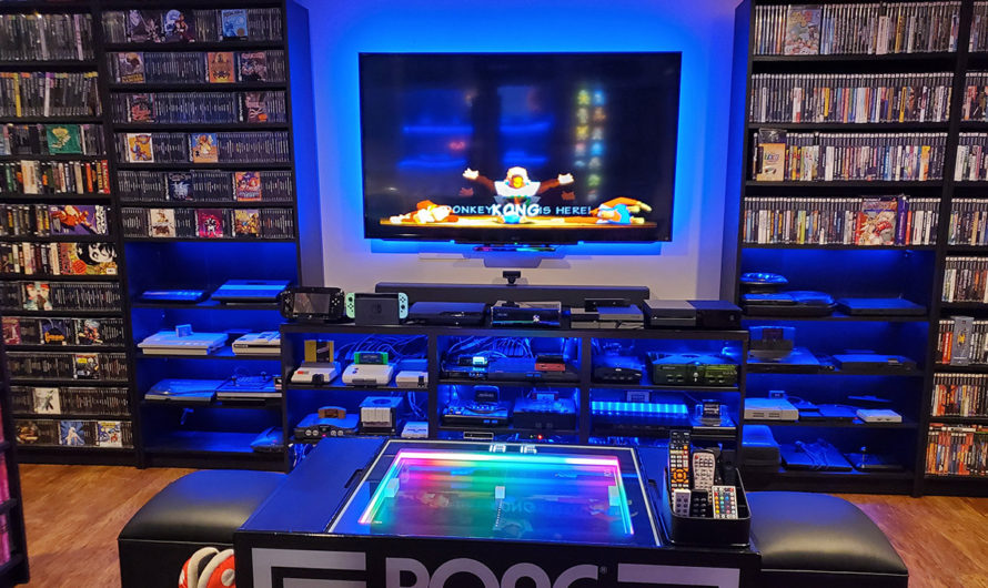 10 Crazy Retro Game Rooms and Battlestations