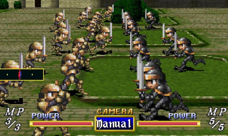 A Quick Look at Dragon Force (Sega Saturn)