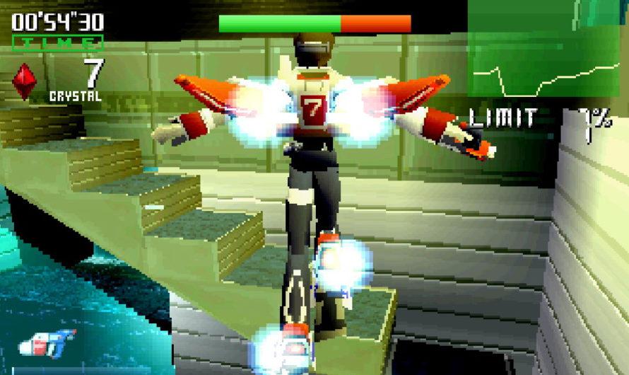 A Quick Look at Burning Rangers (Sega Saturn)