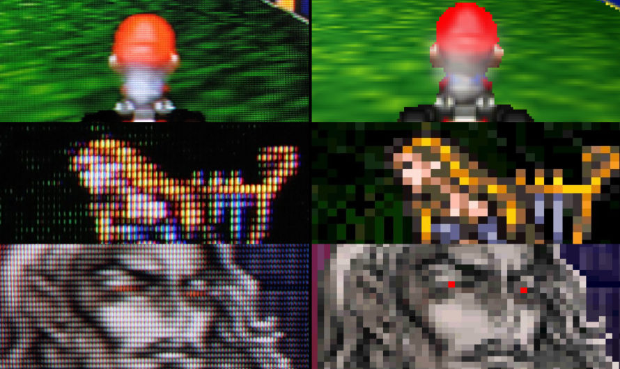 10 Pictures That Show Why CRT TVs Are Better for Gaming