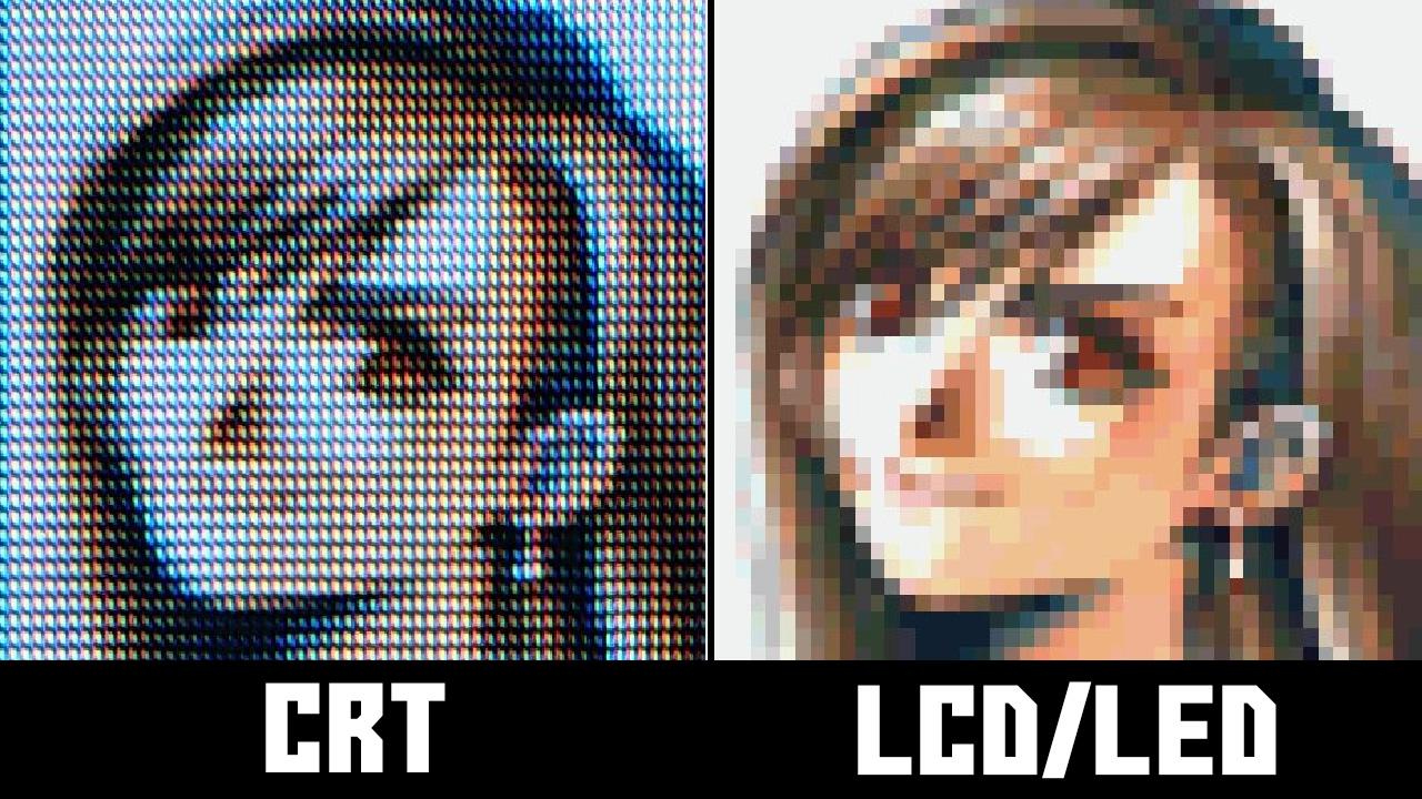 Final Fantasy 7 emulation vs CRT