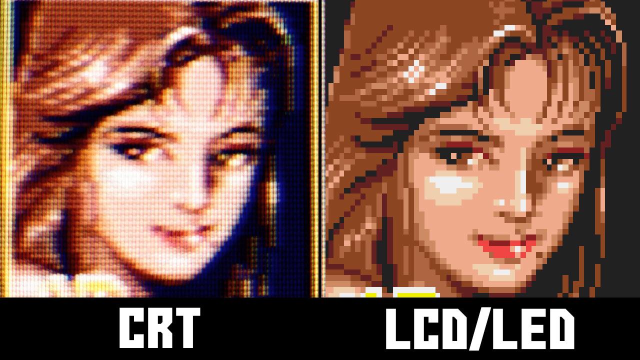 Streets of Rage 2 emulation vs CRT
